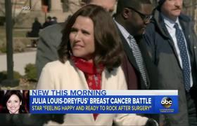 'Veep' star Julia Louis-Dreyfus 'ready to rock' post-surgery