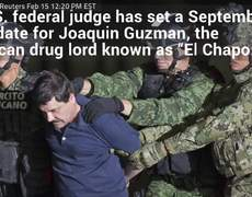 El Chapo Will Face U.S Trial In September