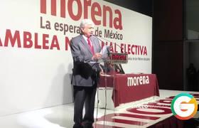 AMLO protesta como candidato Presidencial de MORENA