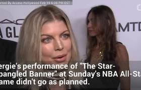Fergie Apologizes For NBA All-Star Game Performance
