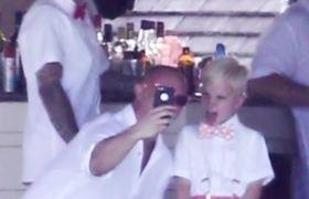 Justin Bieber PDA with Selena Gomez in Jamaica!
