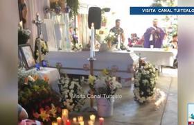 Realizan funerales de víctimas de choque en Tláhuac