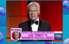 Jeopardy host Alex Trebek to moderate political debate