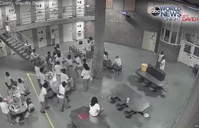Jail Brawl Injuring 10 (Chicago)