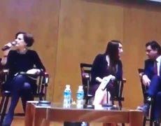 Denise Dresser le truena los dedos a Gabriela Cuevas por hablar en coferencia