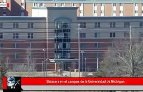Balacera en campus de la Universidad de Michigan
