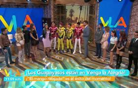 #VLA: ¡ 'Los Wapayasos' con 'El mango relajado'!