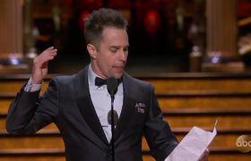Sam Rockwell's Oscar 2018 Acceptance Speech