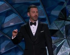 Kimmel Reads the First Joke Ever Told at the Oscars