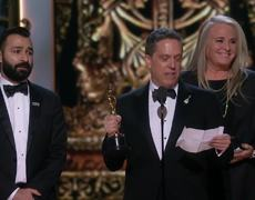 Oscar 2018 - COCO Acceptance Speech for Animated Feature Film