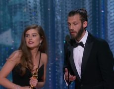 THE SILENT CHILD Oscars 2018 Acceptance Speech for Short Film (Live Action)