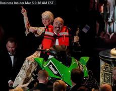 The 'Phantom Thread' Costume Designer Wins Jimmy Kimmel's Jet Ski At Oscars