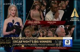 Jordan Peele calls Oscar win 'a dream'