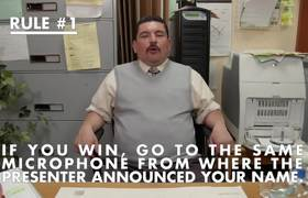 Guillermo's Rules for Celebrities at the Oscars