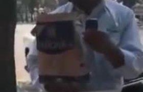 Detienen a peligroso vendedor de Cacahuete dos Patrullas