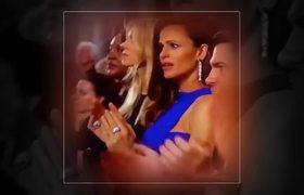 Something Shook Jennifer Garner at the 2018 Oscars