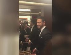 Jimmy Kimmel and Oscars Stars Surprise Moviegoers (Behind the Scenes)
