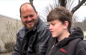Virginia #dad makes son jog a mile to school as punishment for bullying
