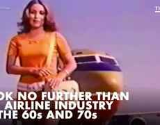 The sexual objectification of flight attendants in the 1960s