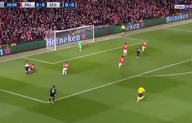 Manchester United vs Sevilla 1-2 (All Goals Highlights)