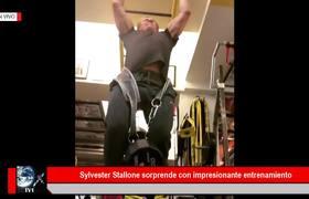 Sylvester Stallone sorprende con impresionante entrenamiento a sus 71 años