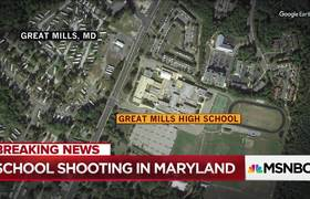 School Shooting Reported In Maryland's Great Mills High School