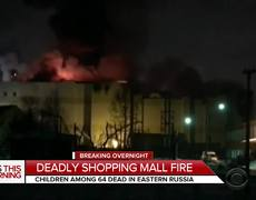 Russia mall fire kills 64 people