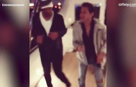 Will Smith and Marc Anthony dancing salsa