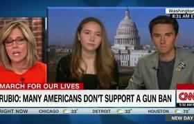 David Hogg to Santorum: CPR won't help if you're shot