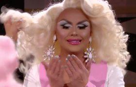 Christina Aguilera Surprises Farrah Moan During Untucked - RuPaul's Drag Race Season 10