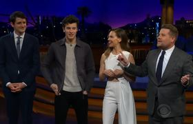 The Late Late Show: Flinch w/ Shawn Mendes, Hillary Swank & Zach Woods