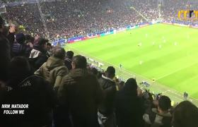 CR7's reaction to Juventus fans applauding him after his bicycle kick goal against Juventus