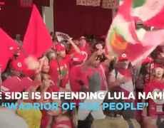 Lula's Arrest Divides Brazil