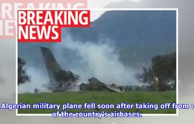 Military plane crashes with 200 soldiers on board – 'no survivors'