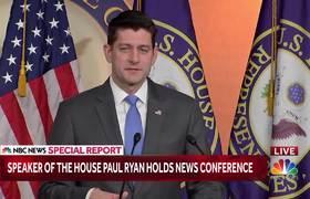 House Speaker Paul Ryan Speaks At GOP News Conference