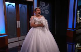 Guillermo Tries New Flying Veil Wedding Trend