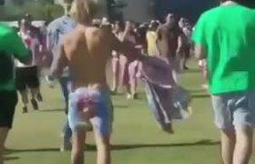 Justin Bieber baila al ritmo de Los Ángeles Azules en Coachella