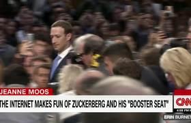 Internet roasts Mark Zuckerberg for 'booster seat'