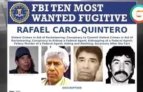 #FBI intensifica su cacería hacia Rafael Caro Quintero