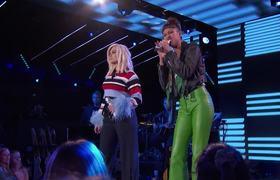 Amelia Hammer Harris & Bebe Rexha Sing