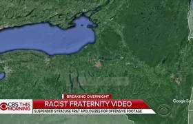 Syracuse fraternity apologizes for racist