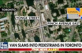 Van strikes pedestrians in Toronto, driver in custody