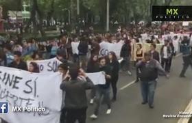 Marchan por estudiantes de cine asesinados en Jalisco
