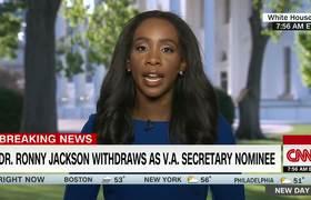 Dr. Ronny Jackson withdraws nomination as VA secretary