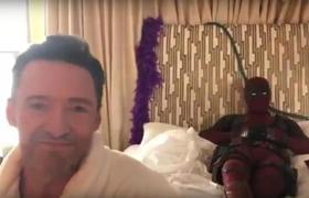 DEADPOOL 2 - Wolverine In Bed with Deadpool Clip (2018)