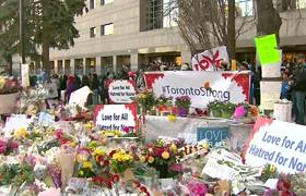 Thousands Attend Toronto Attack Vigil