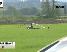 One Hurt In Oregon Helicopter Crash