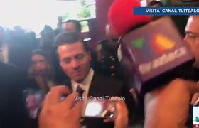 Nadie negocia conmigo, yo soy el presidente': Peña Nieto
