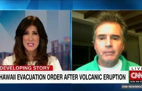 Raw - Hawaii volcano erupts