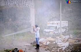 MEXICANA UNIVERSAL (5 GALA) VISITAN ZONA DE DESASTRE